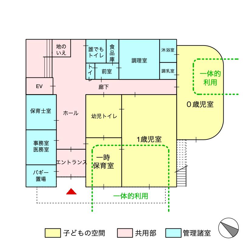 平面計画(1階)