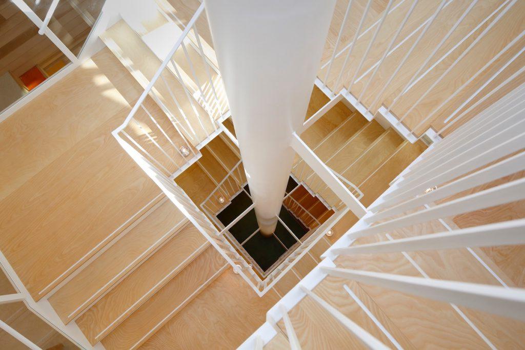 階段のディテール