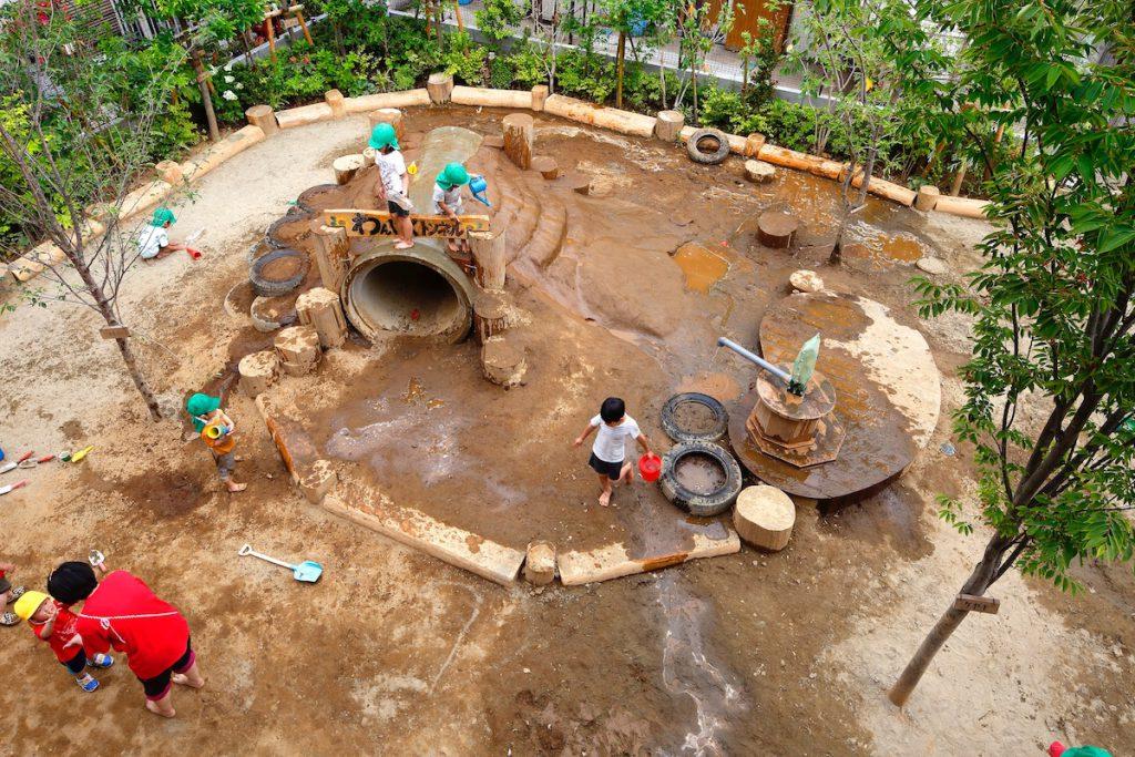 大きい子の庭