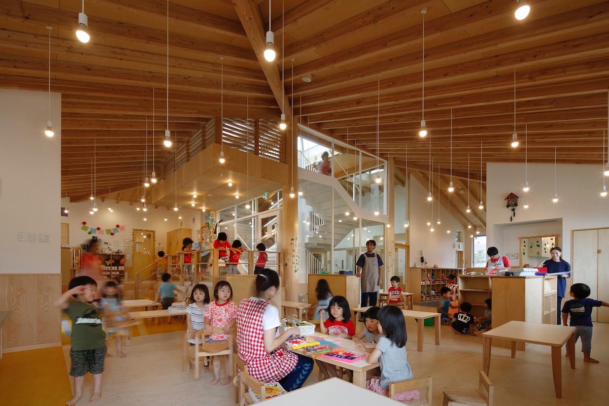 わんぱくすまいる保育園_2〜5歳児室