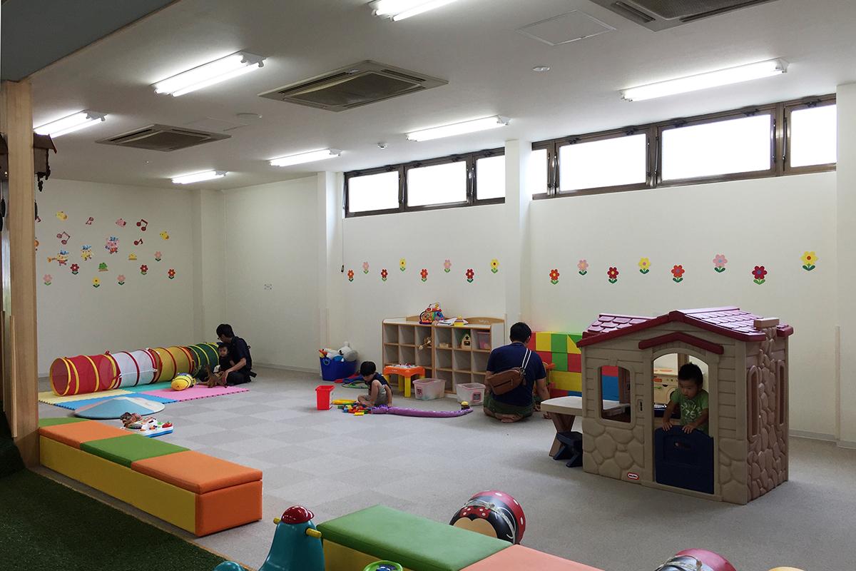 多目的に利用できる子育て支援室